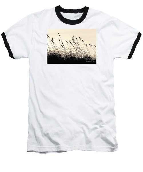 Seaside Oats Baseball T-Shirt by Joy Hardee