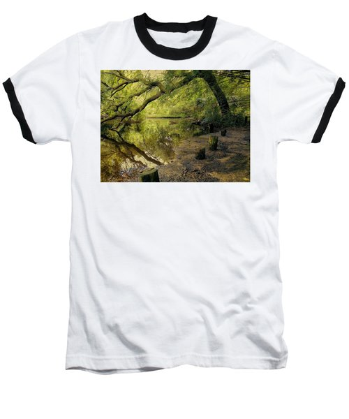 Secluded Sanctuary Baseball T-Shirt
