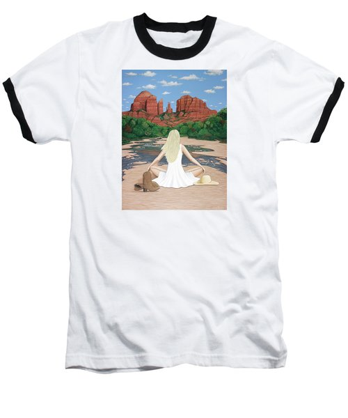 Sedona Breeze  Baseball T-Shirt