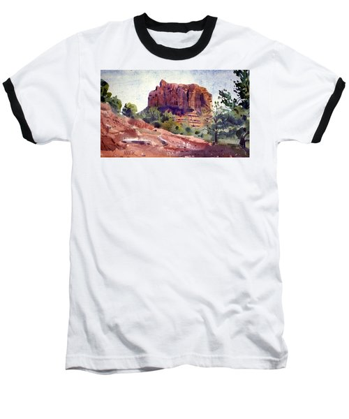 Sedona Butte Baseball T-Shirt