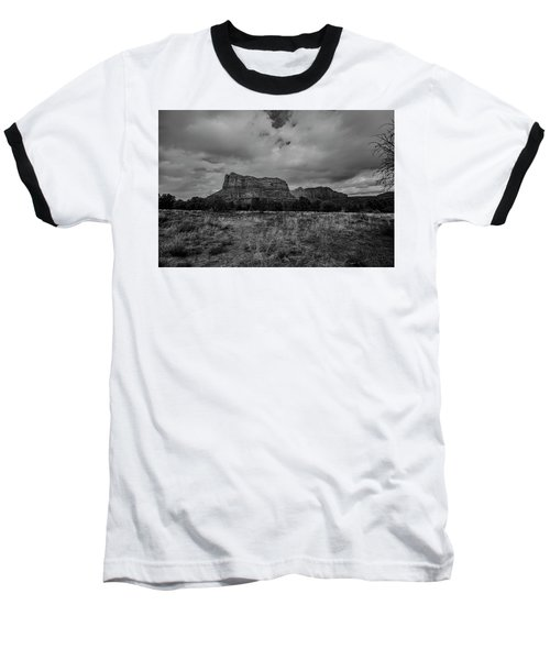 Sedona Red Rock Country Arizona Bnw 0177 Baseball T-Shirt by David Haskett