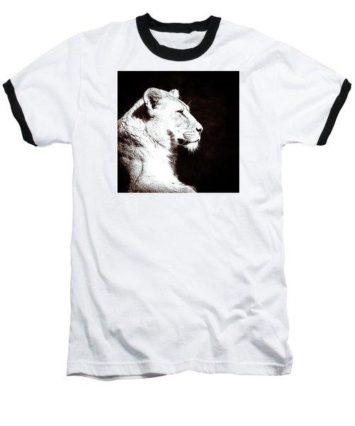 Seeing Double II Baseball T-Shirt by Wade Brooks