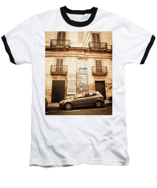 Segnali Stradali Baseball T-Shirt