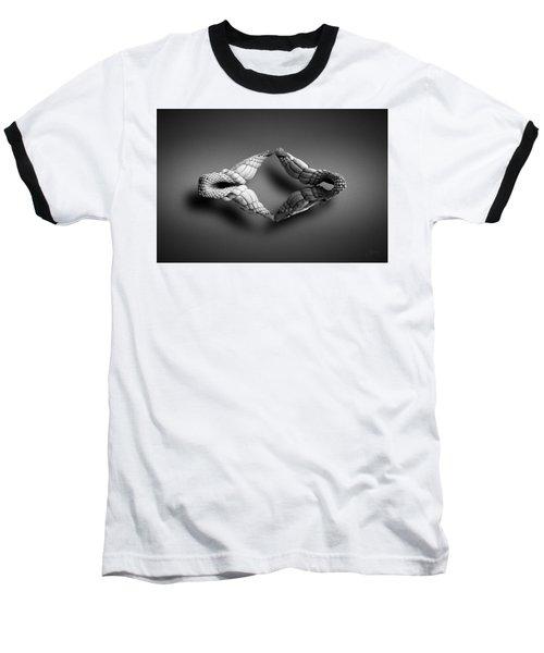 Selachimorpha Baseball T-Shirt by Joseph Westrupp