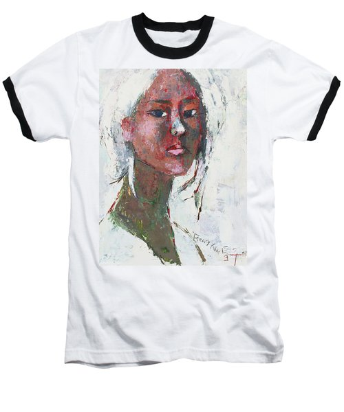 Self Portrait 1503 Baseball T-Shirt by Becky Kim