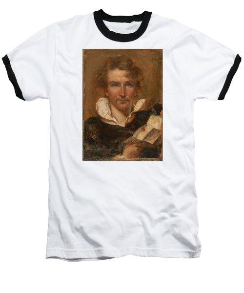 Self Portrait Baseball T-Shirt by William Etty
