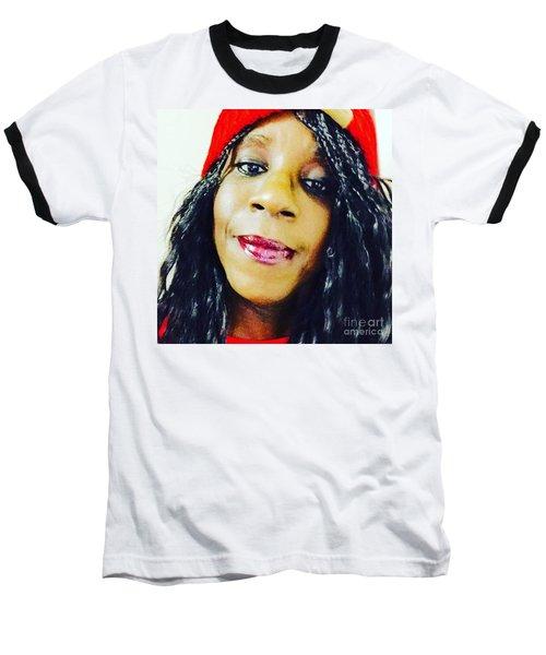 Selfie  Baseball T-Shirt