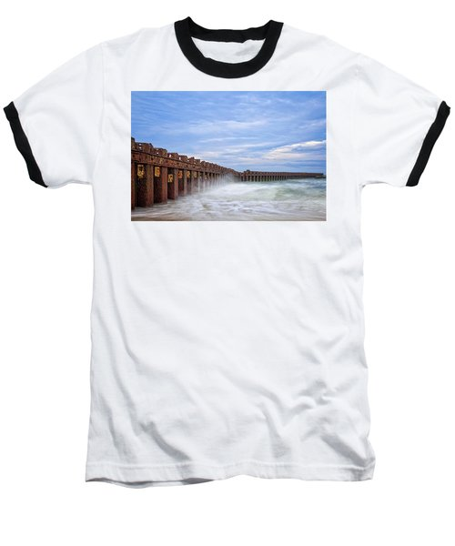 Baseball T-Shirt featuring the photograph Separation by Alan Raasch