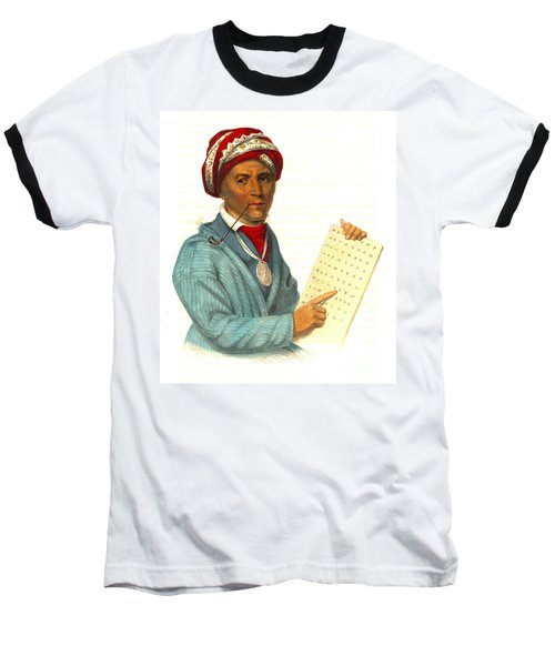 Baseball T-Shirt featuring the photograph Sequoyah 1838 by Padre Art