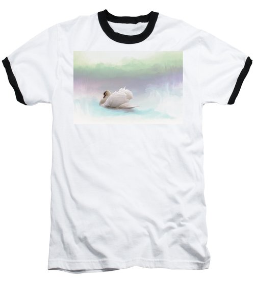 Baseball T-Shirt featuring the photograph Serenity by Annie Snel