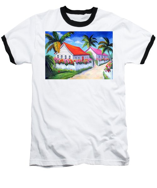 Serenity In Paradise Baseball T-Shirt