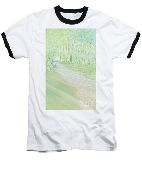 Serenity Baseball T-Shirt by Joanne Perkins