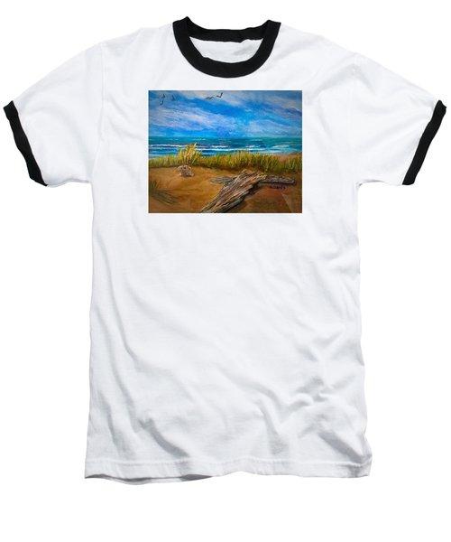 Serenity On A Florida Beach Baseball T-Shirt