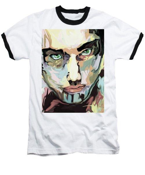 Serious Face Baseball T-Shirt