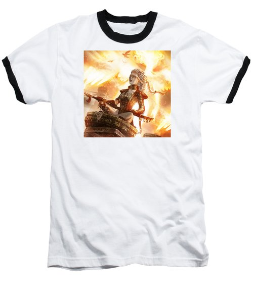Serra Avatar Baseball T-Shirt