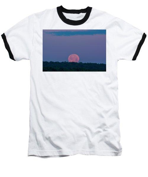 Setting Strawberry Moon Baseball T-Shirt