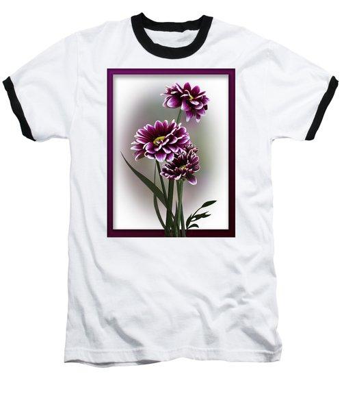 Shades Of Purple Baseball T-Shirt