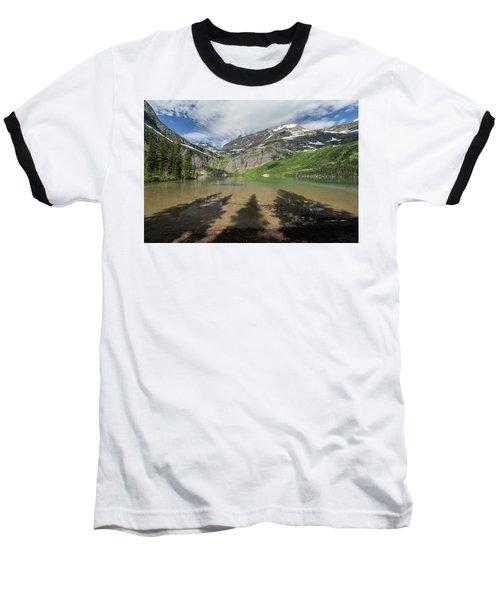 Shadows Baseball T-Shirt by Alpha Wanderlust