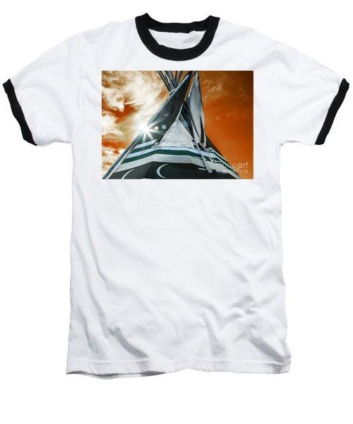 Shamans Tipi Baseball T-Shirt