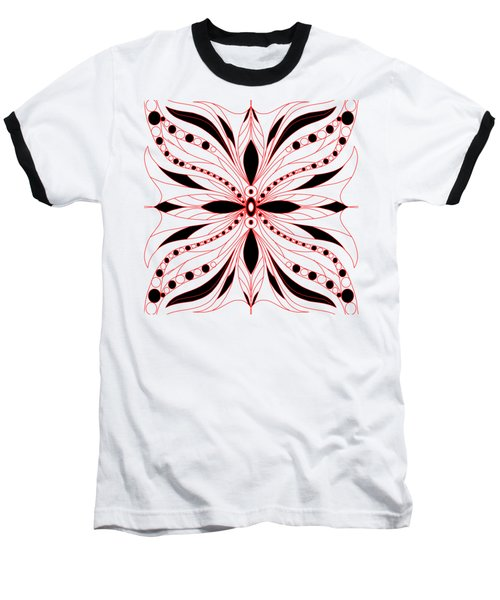 Shapes Of Symmetry Baseball T-Shirt