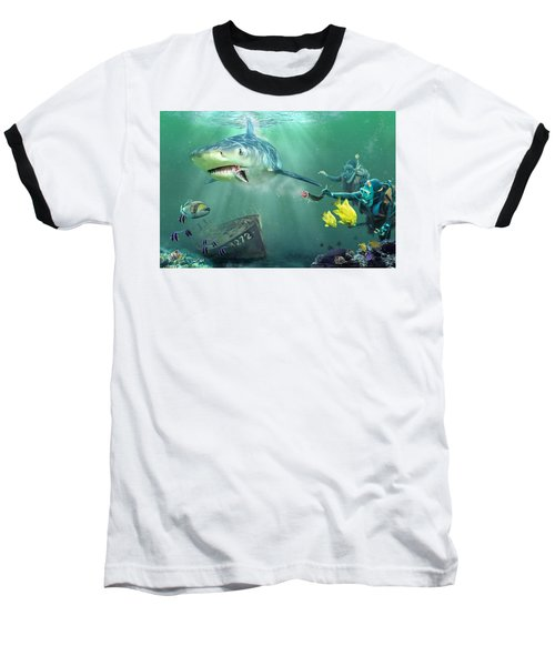 Shark Bait Baseball T-Shirt