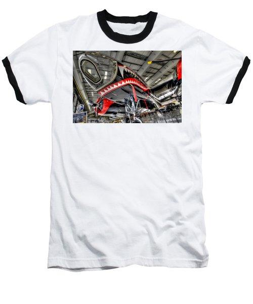 Shark Bite 2 Baseball T-Shirt