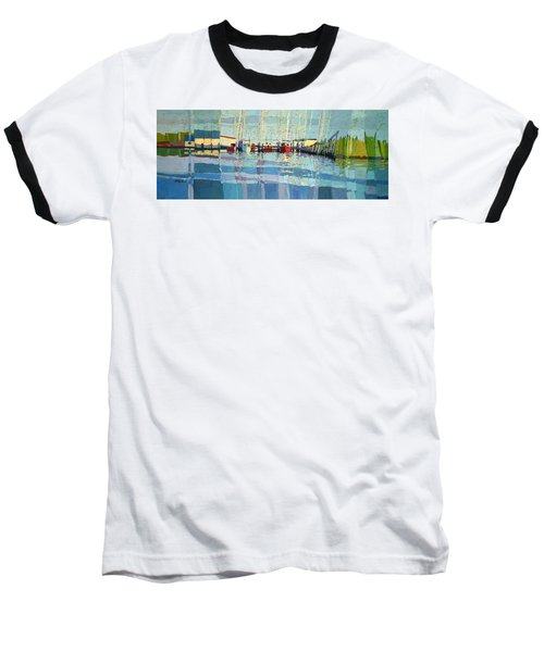 Shark River Inlet Baseball T-Shirt