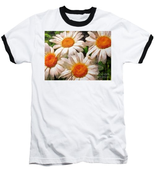 Shasta Daisies 2015 Baseball T-Shirt