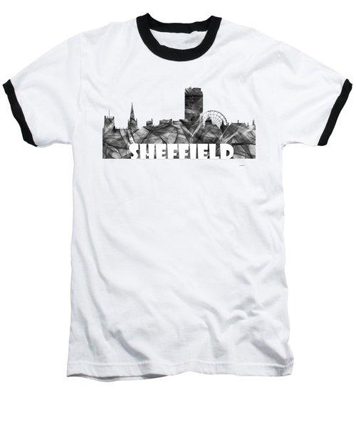 Sheffield England Skyline Baseball T-Shirt