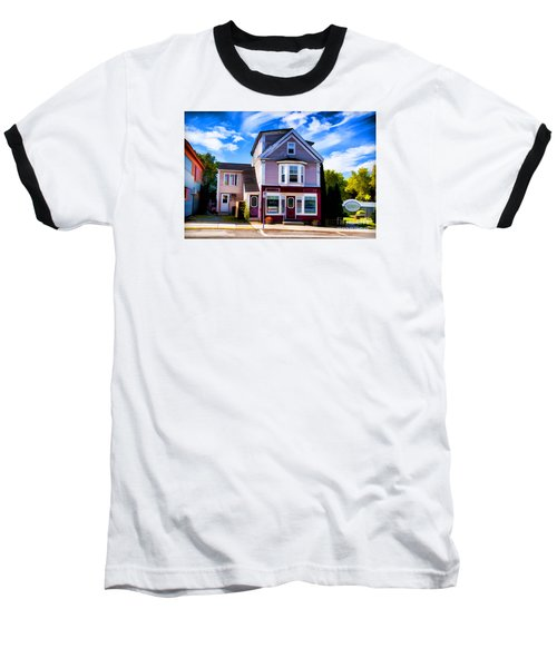 Baseball T-Shirt featuring the photograph Shelbourne Bakery by Rick Bragan