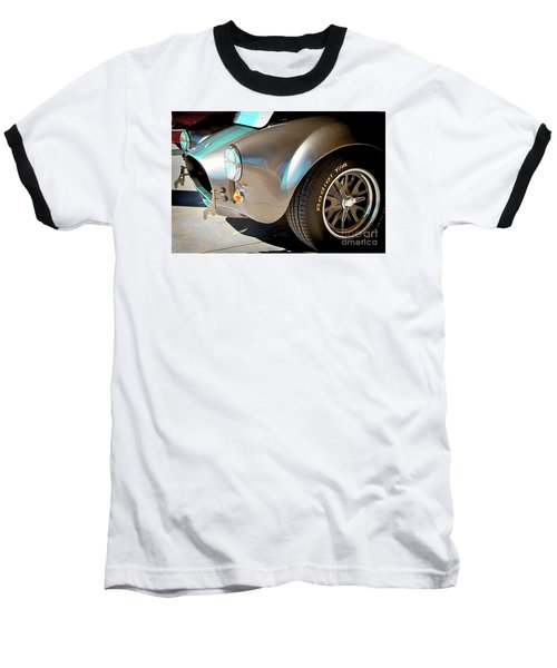 Shelby Cobra Abstract Baseball T-Shirt