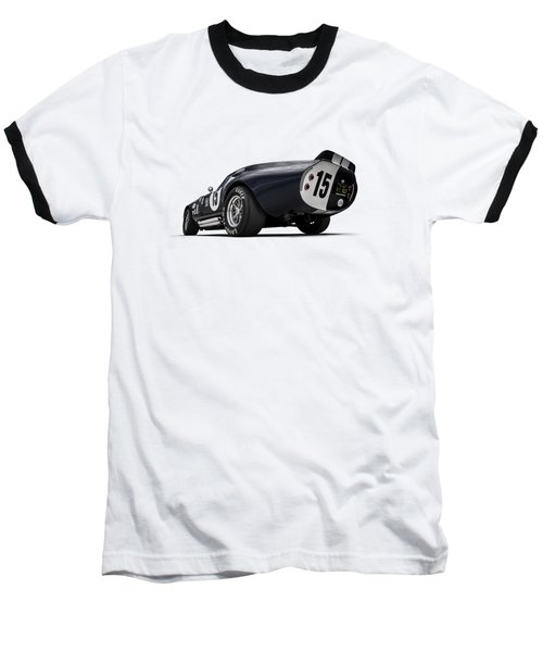 Baseball T-Shirt featuring the digital art Shelby Daytona by Douglas Pittman