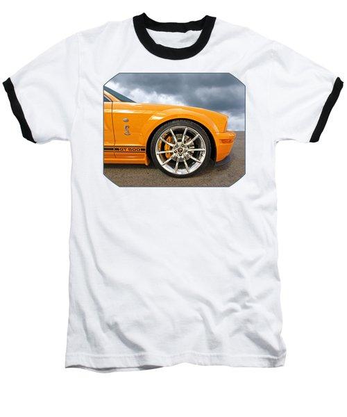 Shelby Gt500 Wheel Baseball T-Shirt by Gill Billington