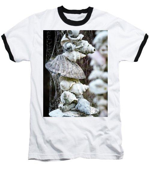 Shells Composition Baseball T-Shirt