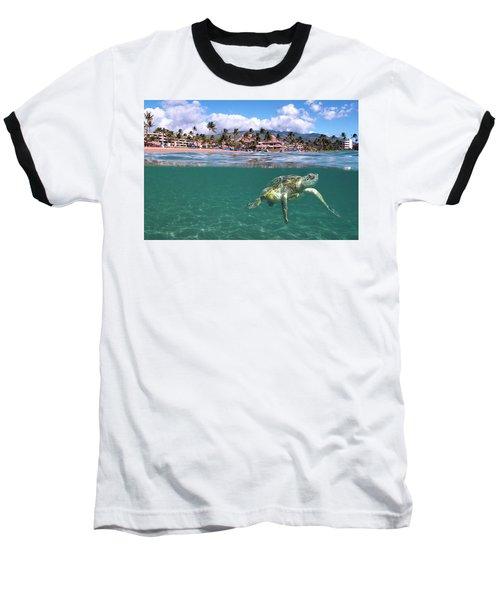 Sheraton Maui Baseball T-Shirt