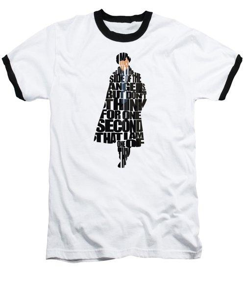 Sherlock - Benedict Cumberbatch Baseball T-Shirt