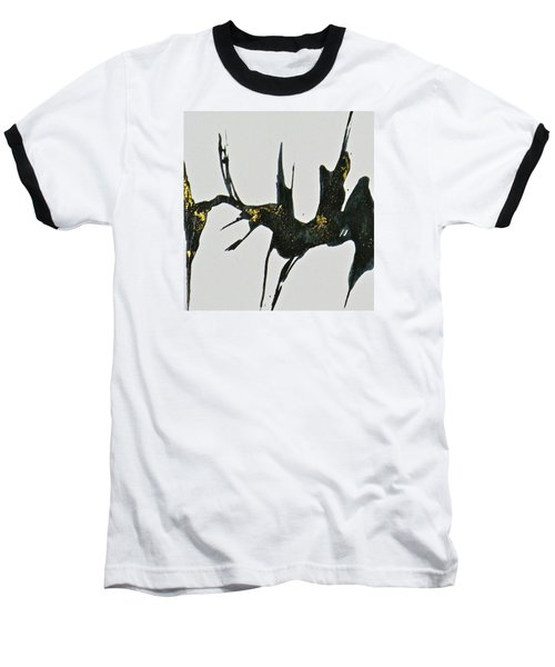 Baseball T-Shirt featuring the painting Shift by Mary Sullivan