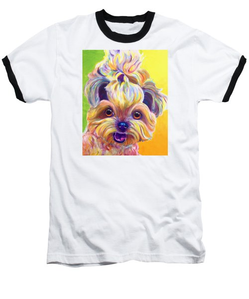 Shih Tzu - Bloom Baseball T-Shirt