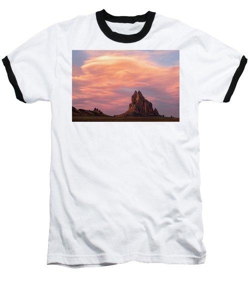 Shiprock At Sunset Baseball T-Shirt