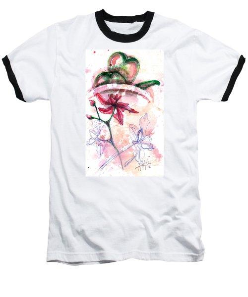 Shiraz Orchid II Baseball T-Shirt by Ashley Kujan