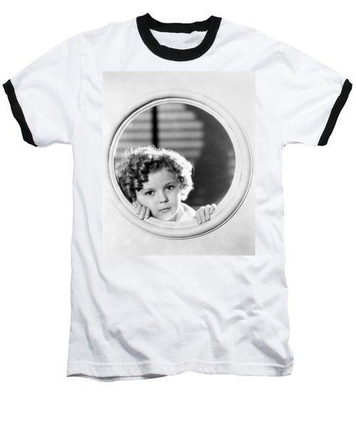 Shirley Temple (1928-2014) Baseball T-Shirt