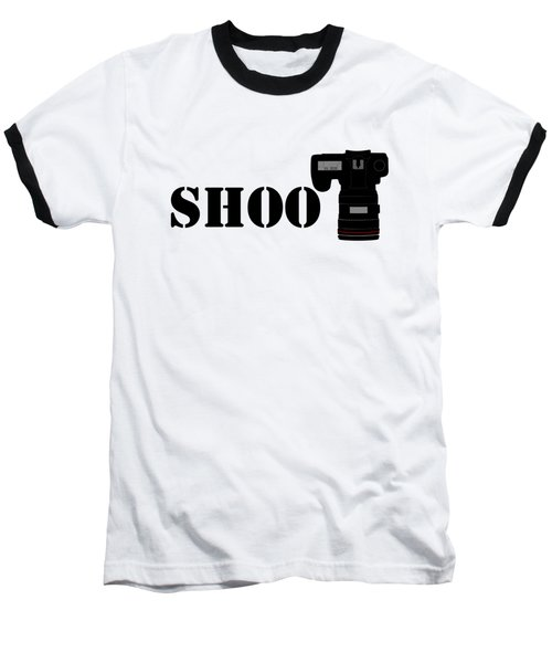 Shoot Baseball T-Shirt by Roger Lighterness