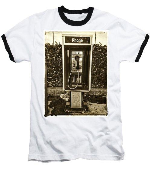 Short Stack Pay Phone Baseball T-Shirt