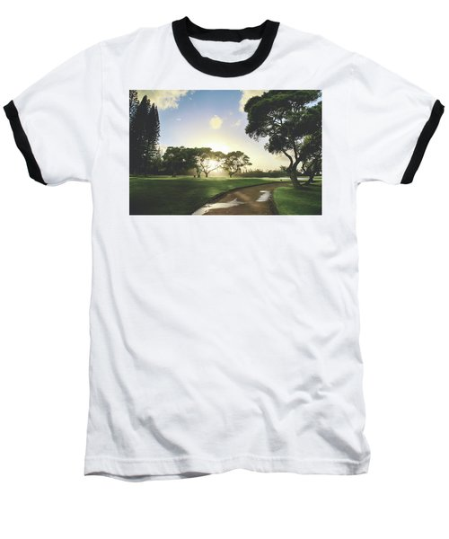 Baseball T-Shirt featuring the photograph Show Me The Way by Laurie Search