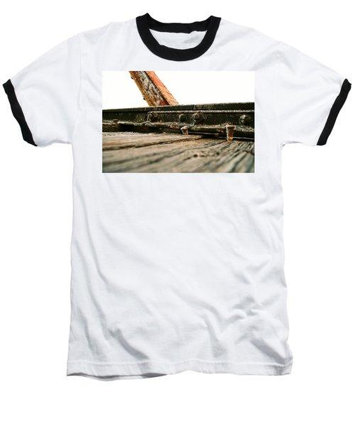 Side Of Rail #photography #trains Baseball T-Shirt