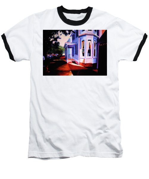 Side Street - Lambertville Baseball T-Shirt by Robert Henne