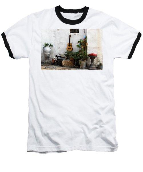 Sidewalk Collage #2 Baseball T-Shirt