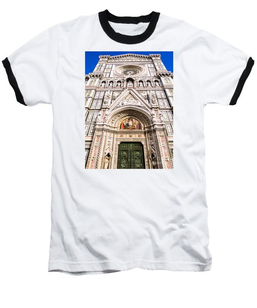 Siena Cathedral Baseball T-Shirt