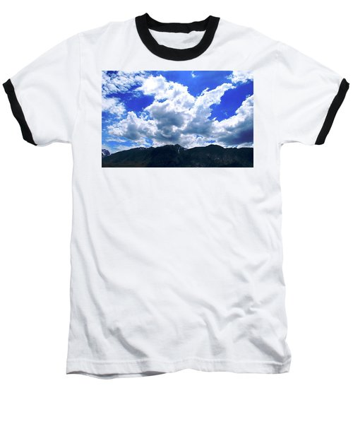 Sierra Nevada Cloudscape Baseball T-Shirt