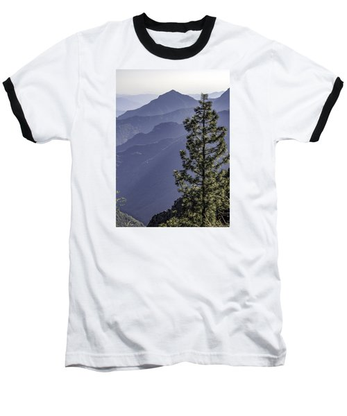 Sierra Nevada Foothills Baseball T-Shirt